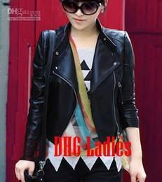Jaket pilihan para wanita jaket DHG Ladies banyak pilihan warna hitam coklat merah