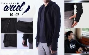 JG 07 Sweater Ariel dengan bahan halus nyaman dipake