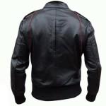 Jaket Ariel Model jaket terbaru dari jaket jege tampak belakang lengan panjang