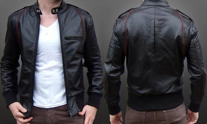 Jaket Ariel jaket semi kulit atau sintetis model terbaru