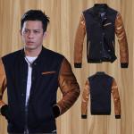 Jaket SK 45 Ariel Model Jaket Terbaru Bahan Semi Kulit dan Denim