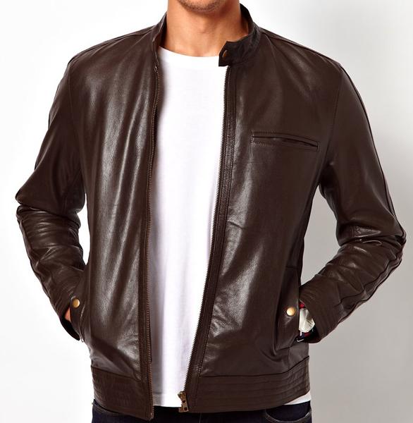 Jaket Semi Kulit Bahan Ferari Untuk Pria Jaket Kulit Sintetis Murah