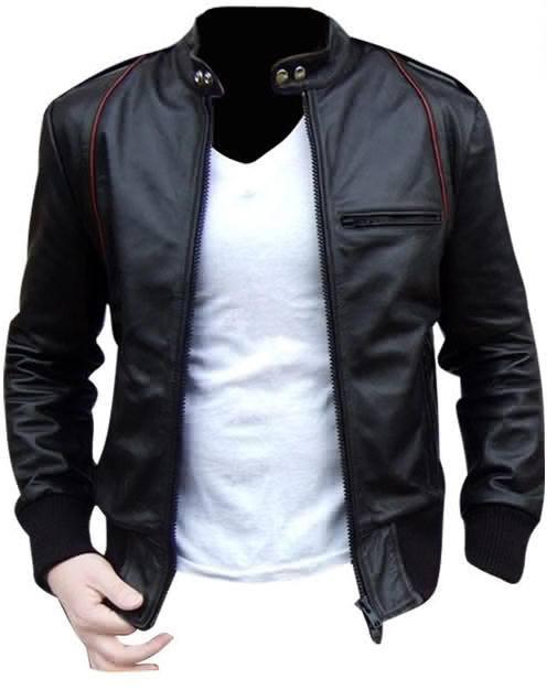 Jenis Model Jaket Semi Kulit Pria Terbaru Terbaik 2015 KODE Ariel