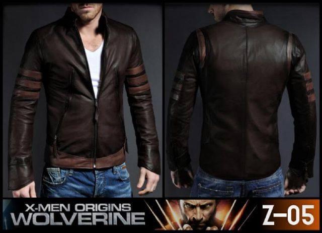 Jenis Model Jaket Semi Kulit Pria Terbaru Terbaik 2015 KODE X-Man Wolverine