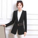 Model Blazer dan jas moder blazer kerja wanita hitam modern