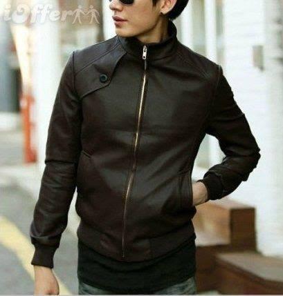 Model Jaket Kulit Sintetis K-19 Model Jaket Korea Pria Terbaru Dengan Gaya Korean Style
