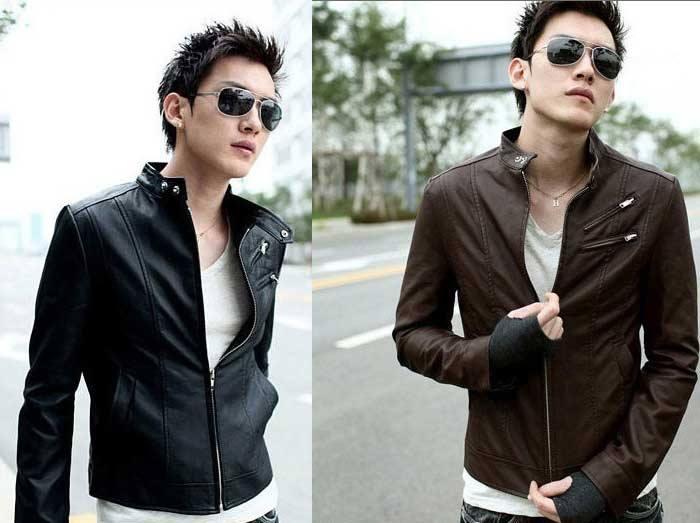 Model Jaket Kulit Sintetis K-20 Model Jaket Korea Pria Terbaru Dengan Gaya Korean Style