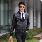 Model Jaket Kulit Sintetis KIPOP Model Jaket Korea Pria Terbaru Dengan Gaya Korean Style