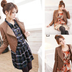 Blazer Wanita Korea Modern Jaket Korea Cewek Murah Modelnya Cantik