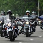 Foto Touring motor gede moge motor besar