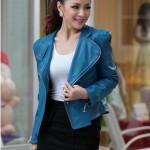 JAKET KULIT CEWEK KOREA Model Jaket Korea Online Wanita Terbaru 2015