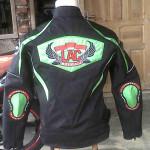 LAC Boyolali Klub Motor Touring model jaket touring keren tampak belakang