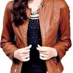 LADIES 1620 Koleksi Terlaris Model Jaket Cewek Terbaru 2015 Coklat Anggun