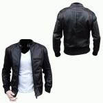 Model Jaket Kulit Ariel NOAH Terbaru 2015 Tampak Depan Belakang