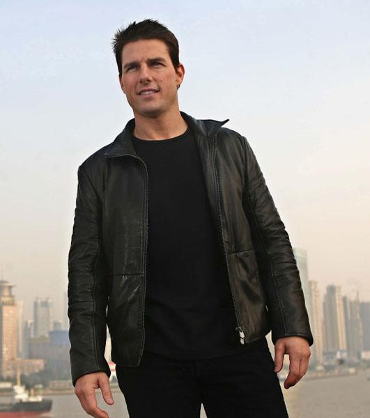 JG-09 Tom Cruise Jual Jaket Kulit Pria Terbaru Di Grosir Jaket Kulit Murah