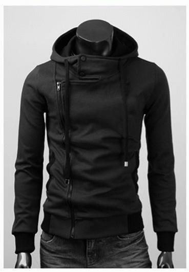 Jaket Korea Harakiri Kode JK-75 Black Fashion Korea Terbaru dan Terlaris