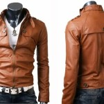 Jaket Kulit Pria Terbaru Coklat Muda Jaket Korean Style Dan Jaket Korea Terbaru Untuk Pria