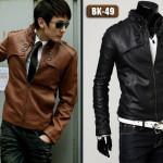 Model Jaket Korea Murah Jual Jaket Kulit Imitasi Atau Sintetis Harga Murah