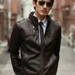 Model Jaket Semi Kulit Coklat Tua Jaket Korean Style Dan Jaket Korea Terbaru Untuk Pria