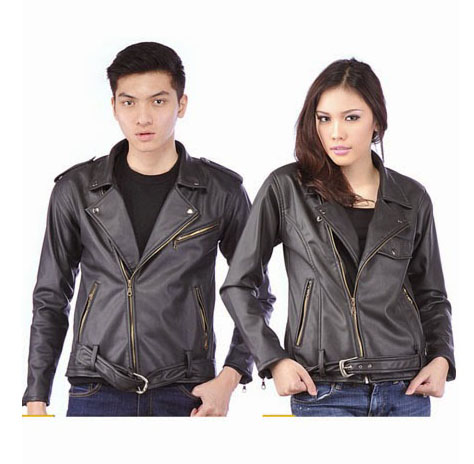 Jual Jaket Couple Murah Model JC-25 Bhan Semi Kulit Model Terbaru 2015
