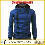 Model Jaket Harakiri Dari Jepang Atau Korea Sweater Korea Murah Warna Biru