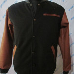 Jaket SK-45 HITAM Memilih Jaket Varsity Lengan Kulit Yang Murah