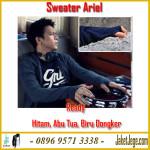 Sweater Hoodie Knite Ariel Sweater Hoodie Hitam Polos Terlaris
