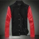 Jaket Baseball Merah Hitam Jual Jaket Baseball Online Model Keren