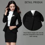 Blazer Wanita Warna Hitam Cara Memilih Blazer Korea Untuk Wanita