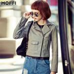 Jaket Kulit Cewek Abu Model Jaket Kulit Wanita Menarik