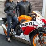 Jaket Motor Couple Biker JC-75 Bisnis Jaket Couple Keren