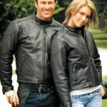 Jaket Semi Kulit Sintetis Hitam JC-45 Jaket Couple Distro