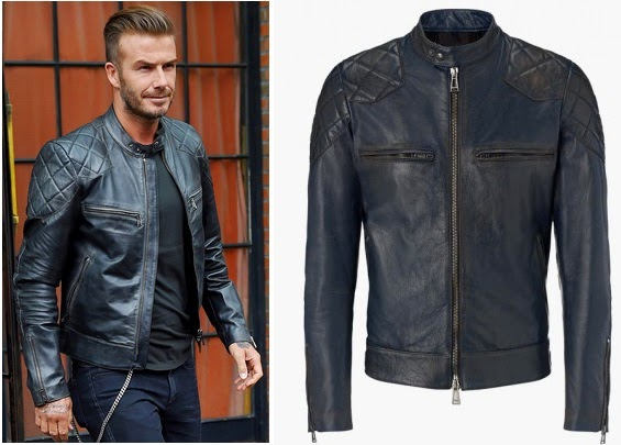 Jual Jaket Kulit David Beckham Jaket Sport Untuk Pria  47300799cf