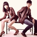 Model Jaket Kulit Couple Coklat JC-15 Peluang Bisnis Sweater Couple Jual Jaket Couple