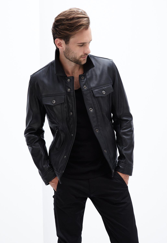 Model Jaket Kulit Pria Macho Jaket Terbaru 2015 Untuk Cowok Keren ... 3032b1c2ad