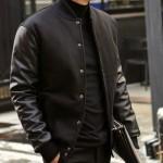 Night Black Korea Model Jaket Kulit Pria Keren Terbaru