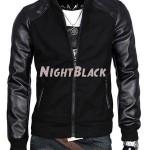 Night Black Model Jaket Kulit Pria Keren Terlaris