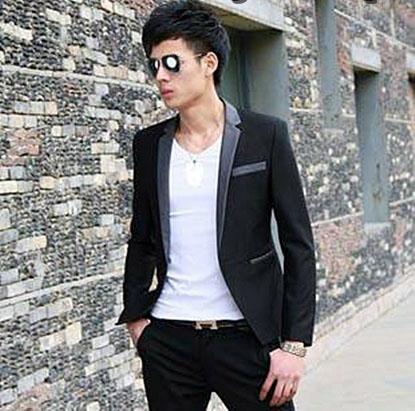 Blazer Cowok Santai BP-022 Cara Memilih Baju Jas Korea Modern Yang Paling Pas