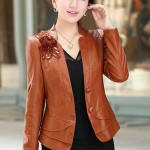 Fashion Leather Jacket Women Gambar Model Jaket Wanita Terbaru Yang Modis