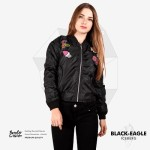 Jaket Bomber Wanita Terbaru BLACK EAGLE-ICEBERG