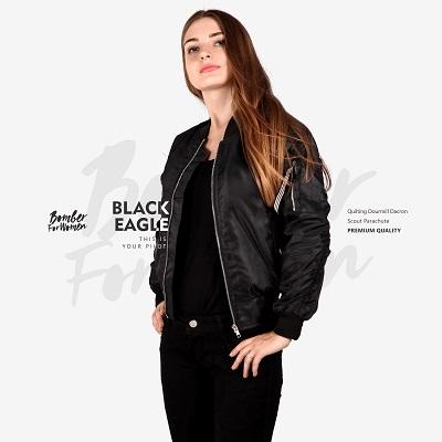 Jaket-Bomber-Terkeren-2017-BLACK-EAGLE-WOMEN - V2
