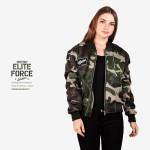 Jaket Bomber Wanita Terbaru ELITE FORCE-Shooter