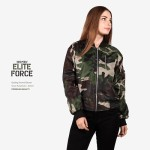 Jaket Bomber Wanita Terbaru ELITE FORCE