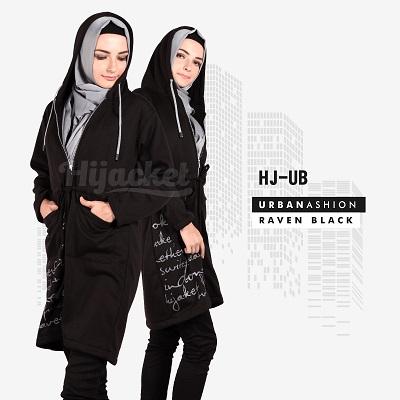 Jaket-Wanita-Distro-HJ-UB RAVEN BLACK