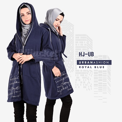Jaket-Wanita-Distro-HJ-UB ROYAL BLUE