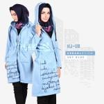 Jaket Wanita Distro HJ-UB SKY BLUE