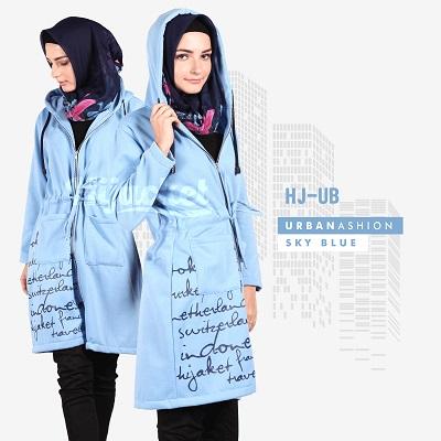 Jaket-Wanita-Distro-HJ-UB SKY BLUE