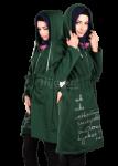 5 Model Jaket Wanita Muslimah Terbaru Masa Kini 2017 / 2018